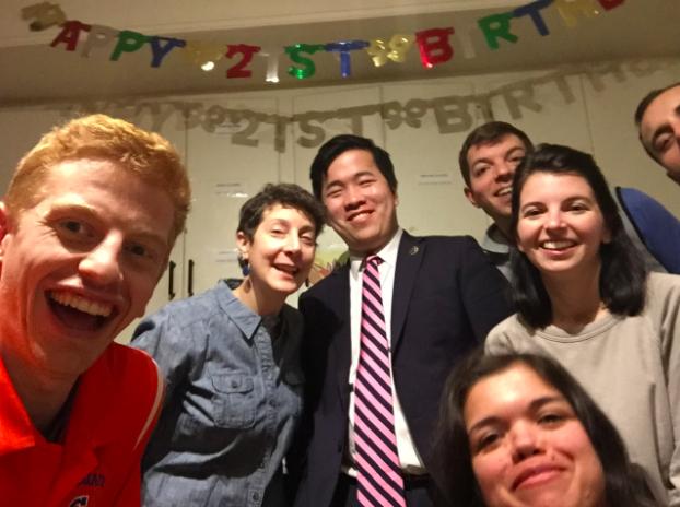 Celebrating Francis' Birthday