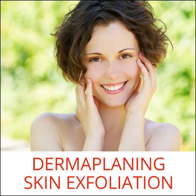 Dermaplaning Skin Exfoliation