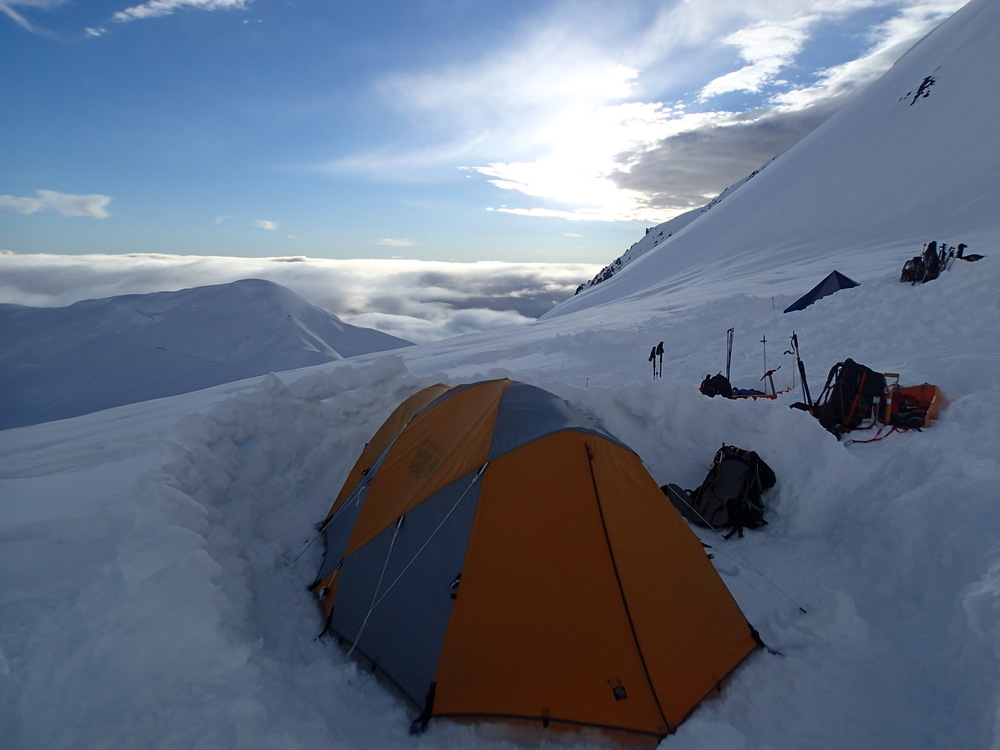 Camp at 11,000ft