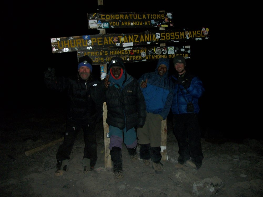 Summit of Mt. Kilimanjaro