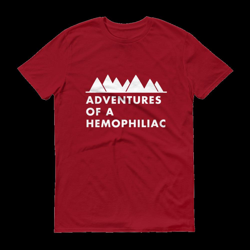 ab44f57d Men's Red T-Shirt — Adventures of a Hemophiliac