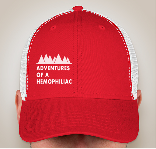 Red Trucker Hat — Adventures of a Hemophiliac 3470f5091e2