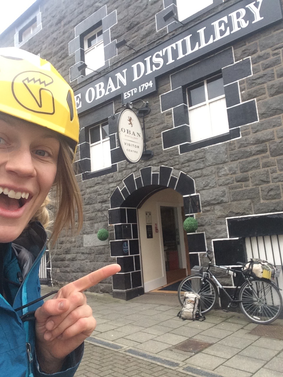When i got to Scotland nothing was in condition, so I went to wander the country on a good 'ol January bike tour. Single malts, castles and Scottish candies. It was amazing. It totally got me ready for Scottish winter climbing. Rain and snow bring it on!!
