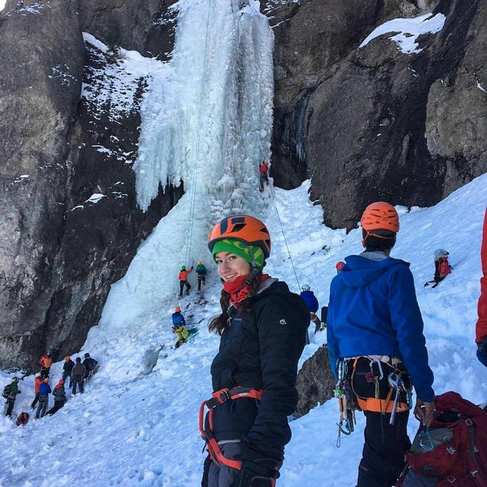 Cody Ice Fest participants getting rad on their first ever ice climb! Thank you for putting on such an amazing Festival Ari Novak!