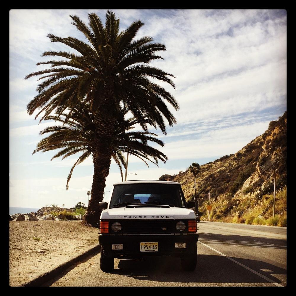 Pacific Coast Highway, Malibu, California.