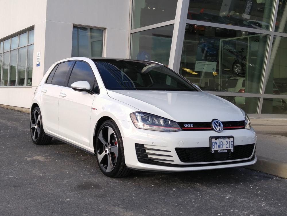 2016 Volkswagen Golf GTI Autobahn (Canada)