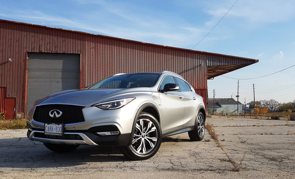 Infiniti wants to sex up the premium compact crossover market with its slinky QX30.