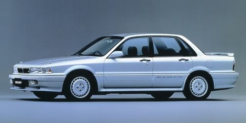 The brilliant 1988 Galant VR-4: A Turbocharged sports sedan with All-Wheel-Drive and All-Wheel-Steering.
