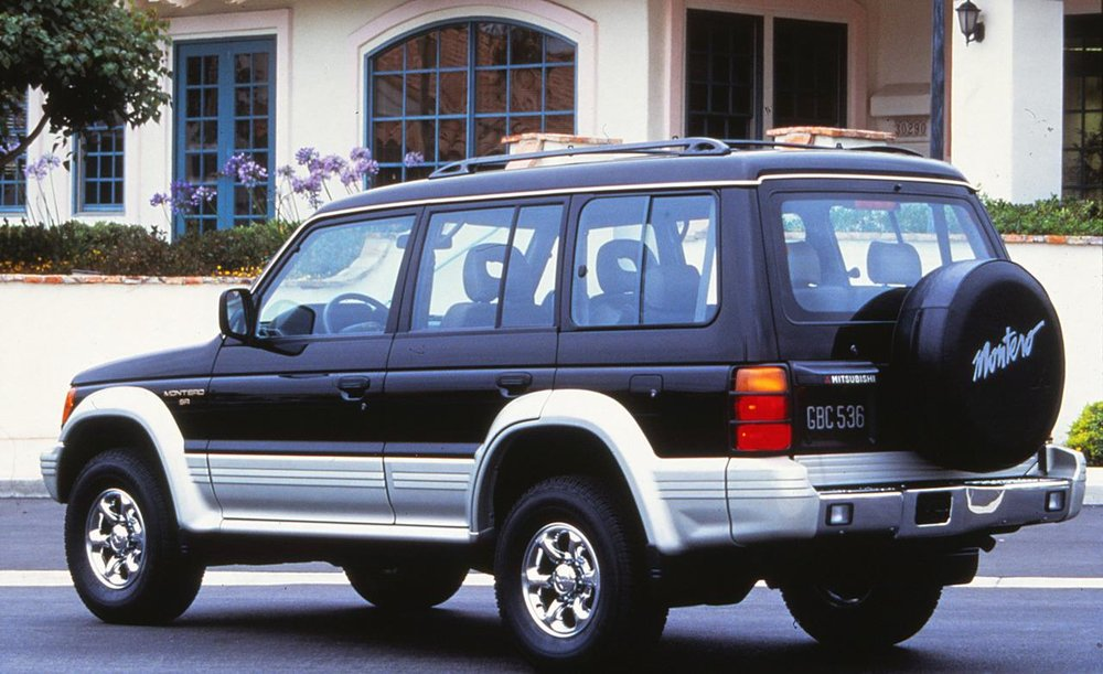 The handsome and indestructible 1995 Mitsubishi Montero SR