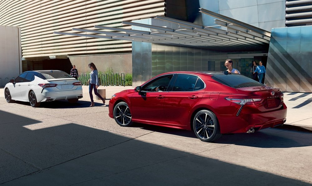 Camry XSE, the most exciting-looking Camry of all.Image courtesy of Toyota