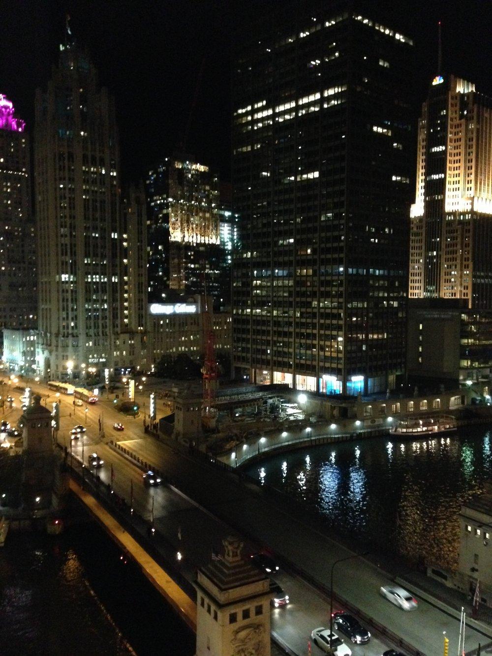Chicago at night...