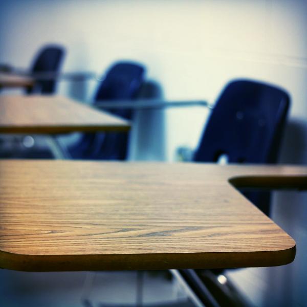 Escape Detention has school desks for bad students.