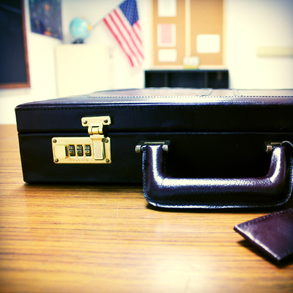 Mrs. Finklestein is serious about locks. What is she hiding in there?