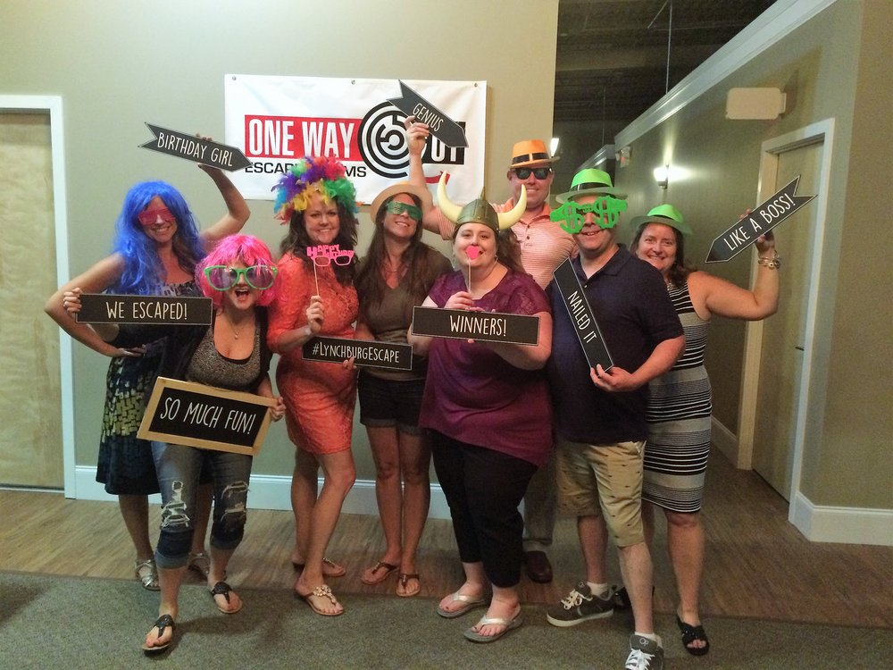 Lynchburg Escape Room - Birthday Parties in Lynchburg, VA