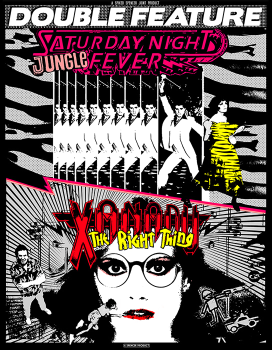 SATURDAY NIGHT JUNGLE FEVER / XANADU THE RIGHT THING