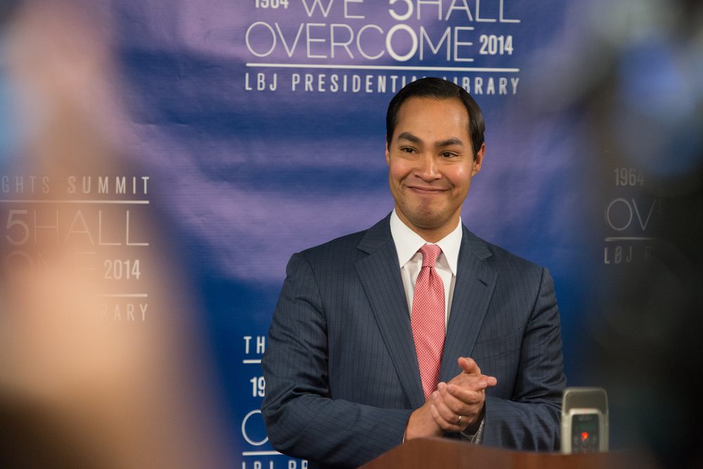 HUD Secretary Julián Castro.  Flickr/ LBJLibraryNow