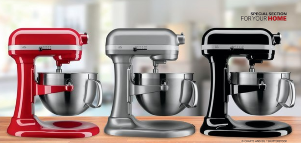 the costco connection (oct 2016): master your mixing: kitchenaid is a workhorse of versatility