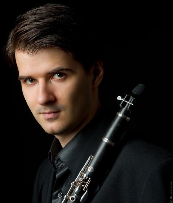 Maksim Shtrykov, woodwinds (clarinet, saxophone, flute, recorder) - Artist Faculty:Concertant Classics Music Studio