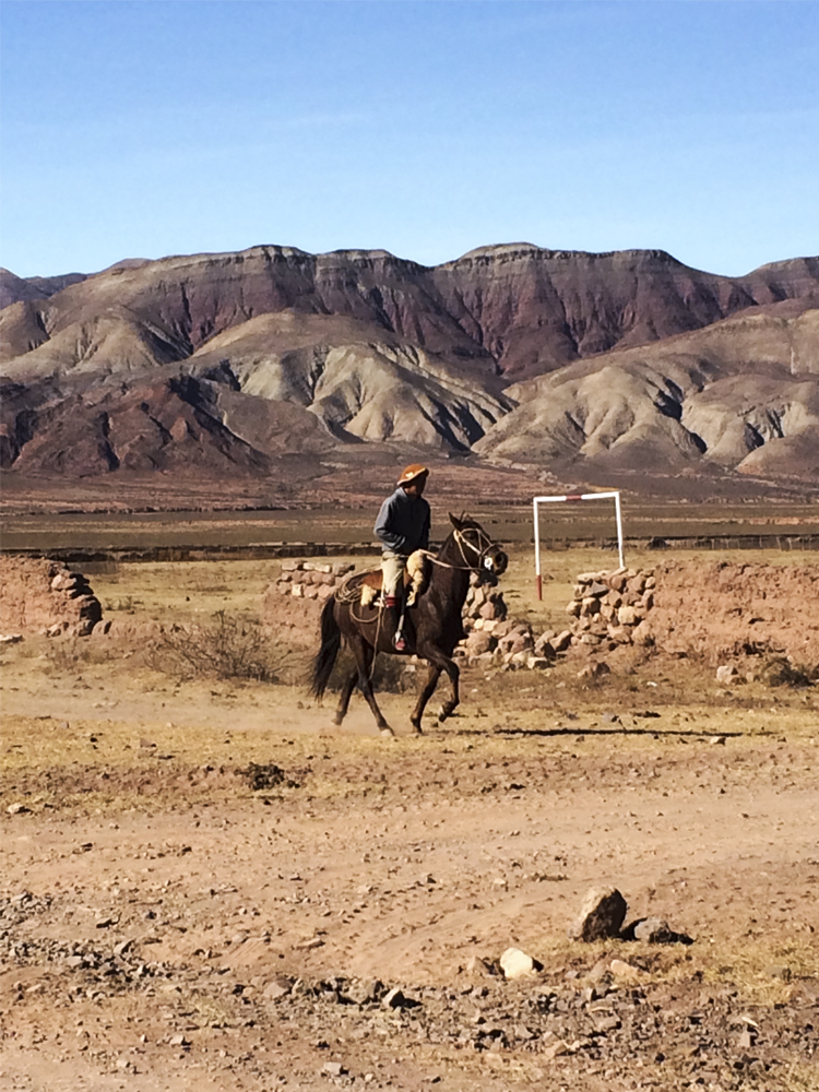 Gauchos, are the Argentinian equivalent to cowboys; their lifestyle demands time, hard work, and respect for horses and they countryside.