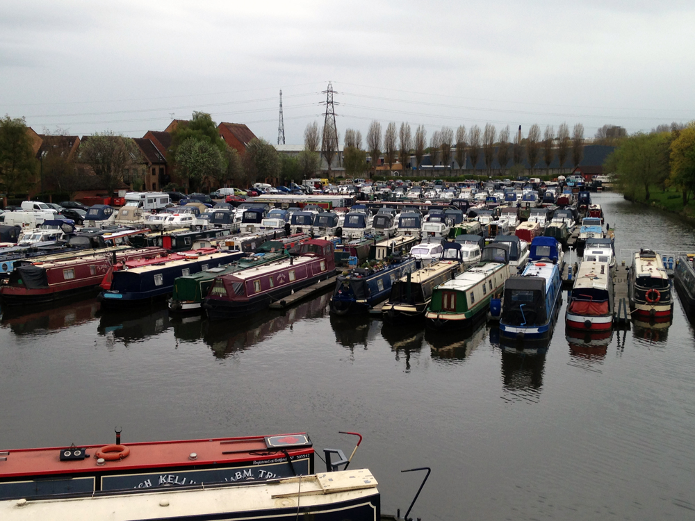 The Castle Marina is always quiet, but if you look carefully you can see many signs of everyday life.