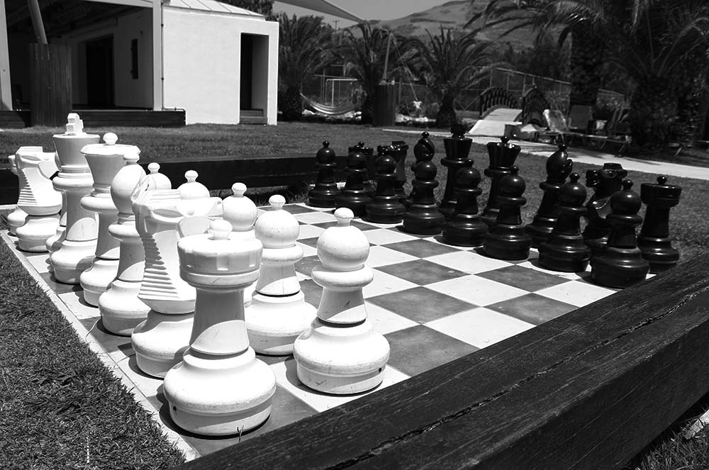 This photograph was taken a bit outside of Rethmynon, at a resort along the beach. Greeks have been known for their historical and artistic importance. Greeks today still carry that artistic and whimsical spirit with them. This is not the first life-sized chess set I've seen, but it's the first one I've seen in Greece.
