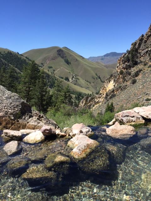 Goldbug Hotsprigs; Idaho, USA