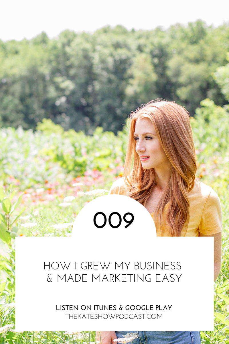How I Grew My Business & Made Marketing Easy