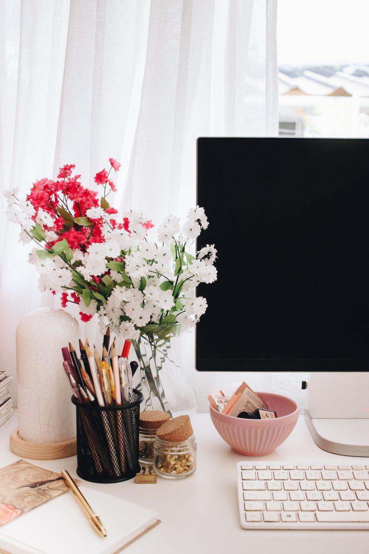 interior design home staging window workroom marketing social media website design