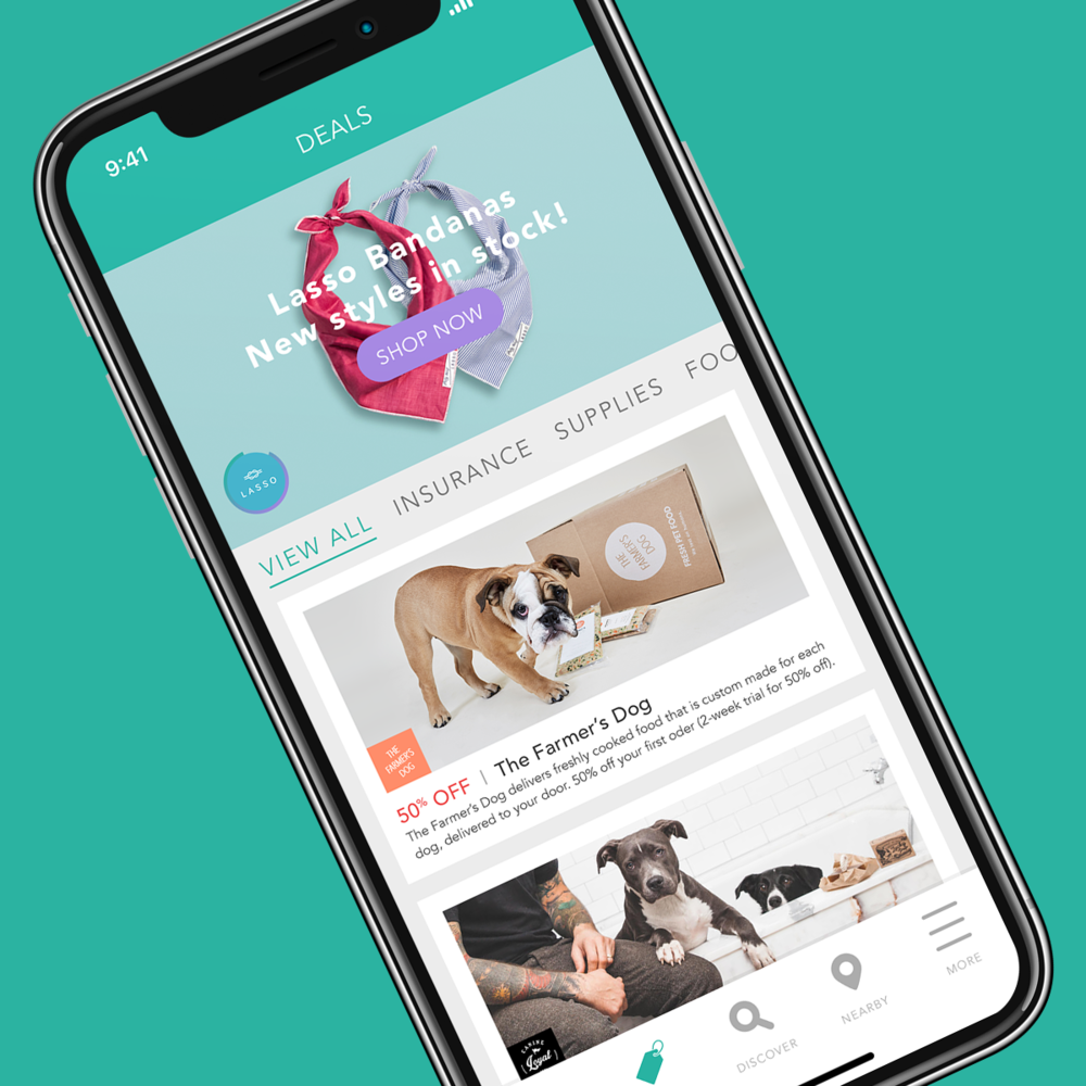 Explore great deals for you and your pet. - Collars, treats, and clothing oh my! Explore the latest from our great partners including deals exclusive to Fetch My Pet users.