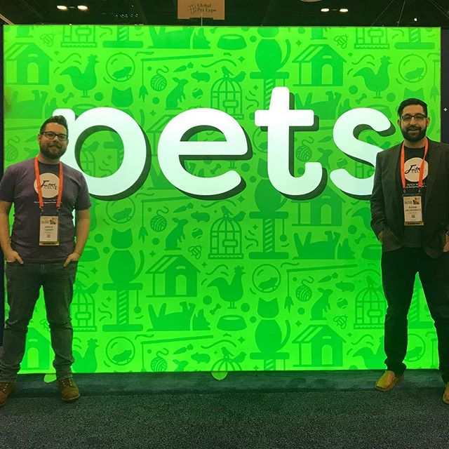 Hello Global Pet Expo! Be sure to stop by and say hello to our team at Booth #2481. . . #globalpetexpo #fetchmypet #fetchlabs #dog #dogs #dogsofinstagram #cat #cats #catsofinstagram