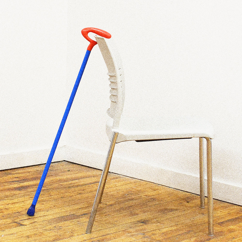 A Cane that chills - When you want to take a rest, SPRY can too (it won't fall over when set down).