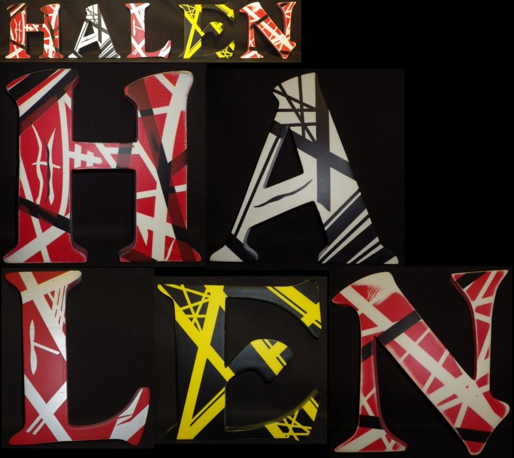 Mean Street Custom painted HALEN letters for Jeremy H.jpg