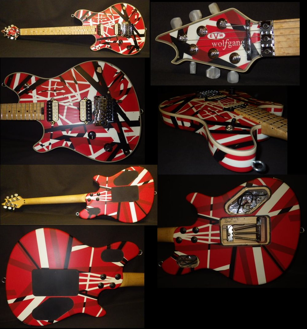 Mean Street EVH striped Wolfgang Left handed George V.jpg