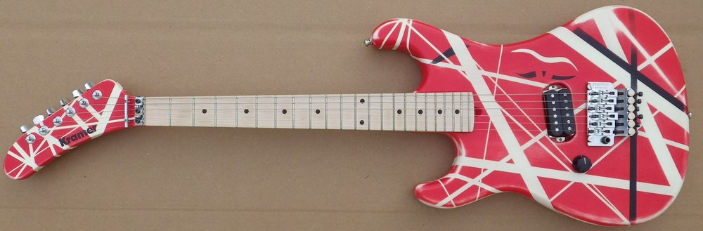 Mean Street paint job over GMW guitar Hot For Teacher Juan D pic 1.jpg