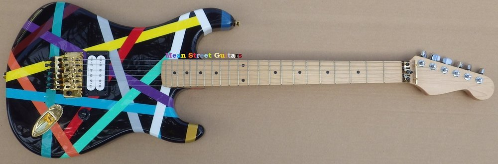 Mean Street Guitars Multi Stripe