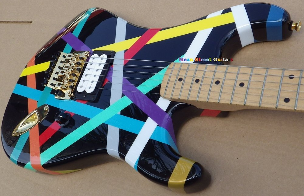 Mean Street Guitars Multi Stripe Jeff H pic 3.jpg