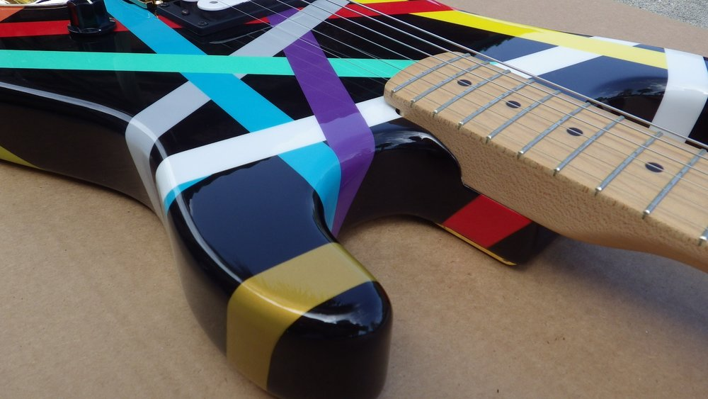 Mean Street Guitars Multi Stripe Jeff H pic 4.jpg