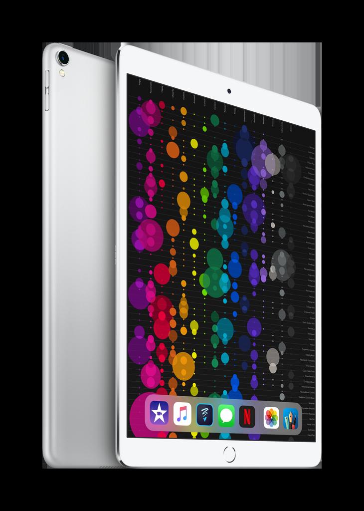 iPad Pro 10.5 silver