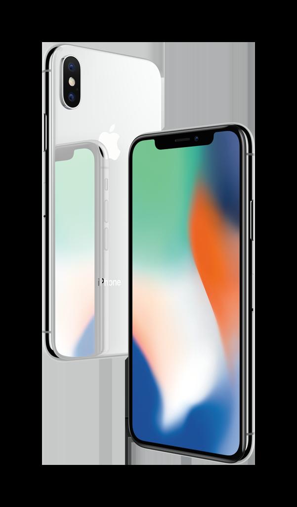 iPhoneX silver