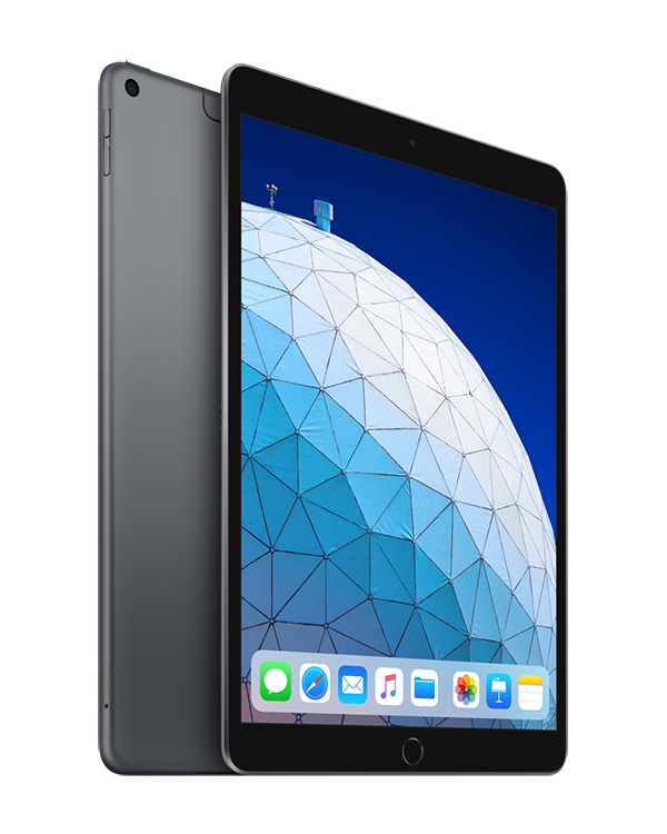 iPad Air ANGLE space gray