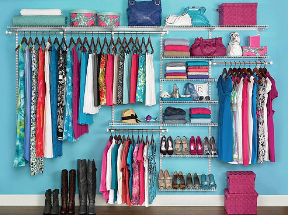 I only wish this was my closet