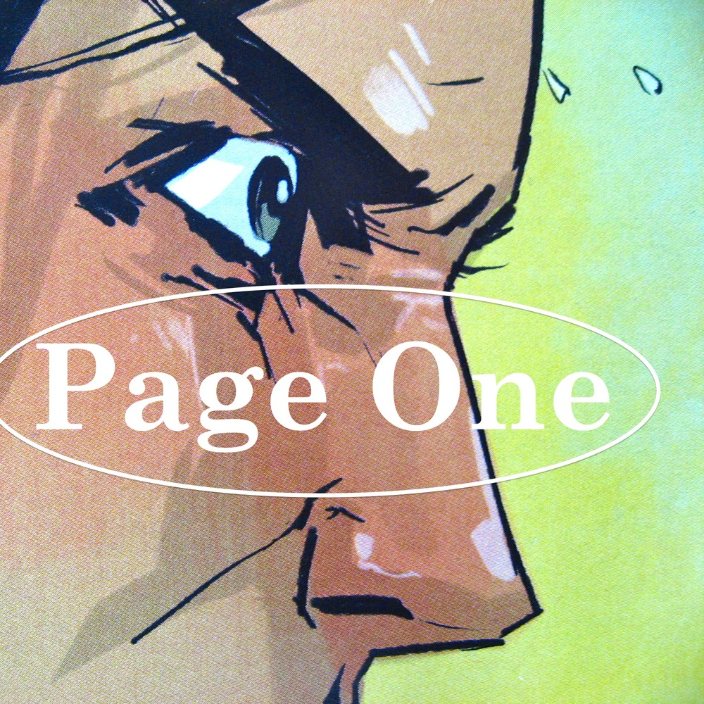 Episode image is a detail from the first page of  Saga, Volume One , published by Image Comics, Inc. in October 2012; image by Fiona Staples.
