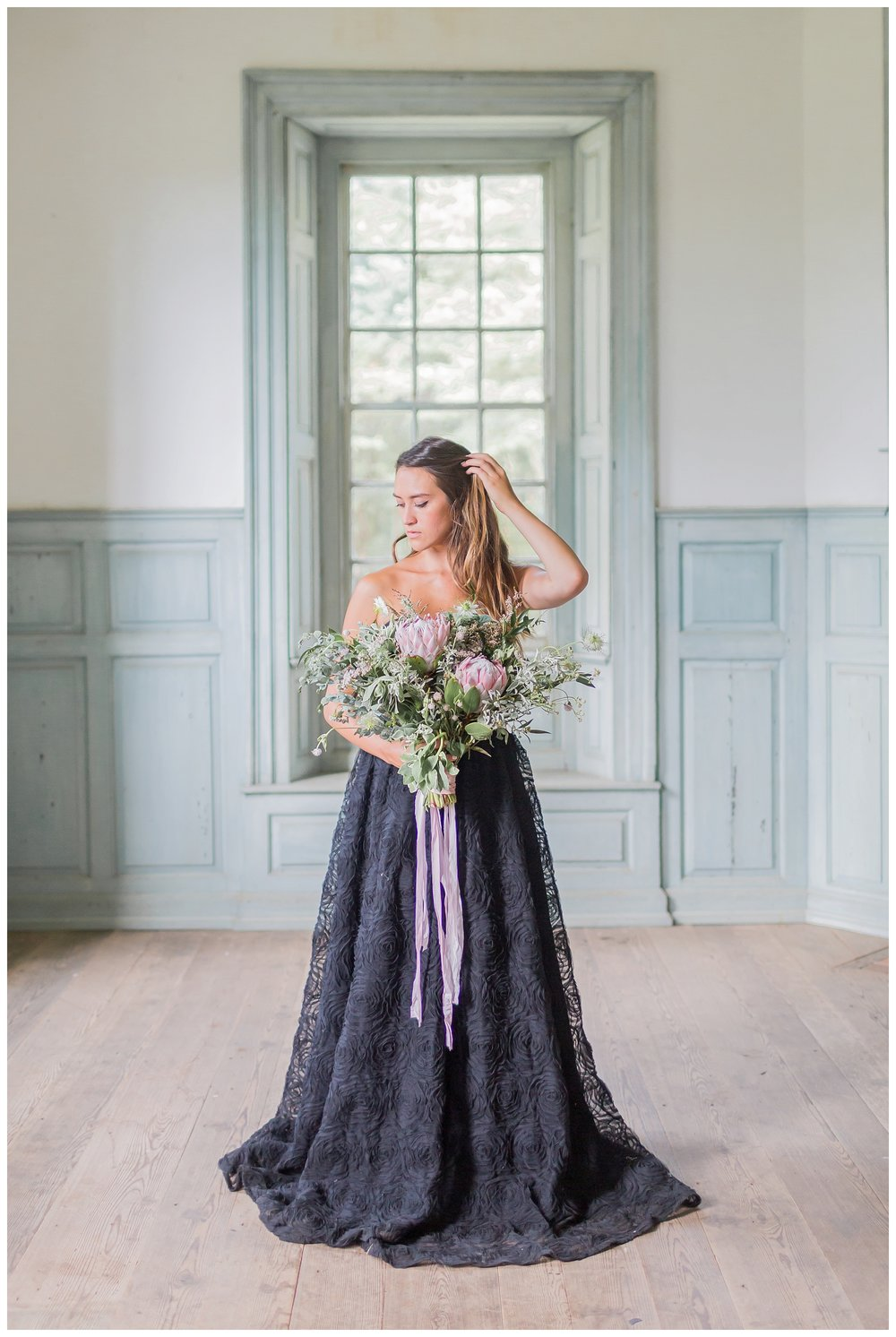 Germana Wedding Inspiration | Black Wedding Dress | Alternative ...