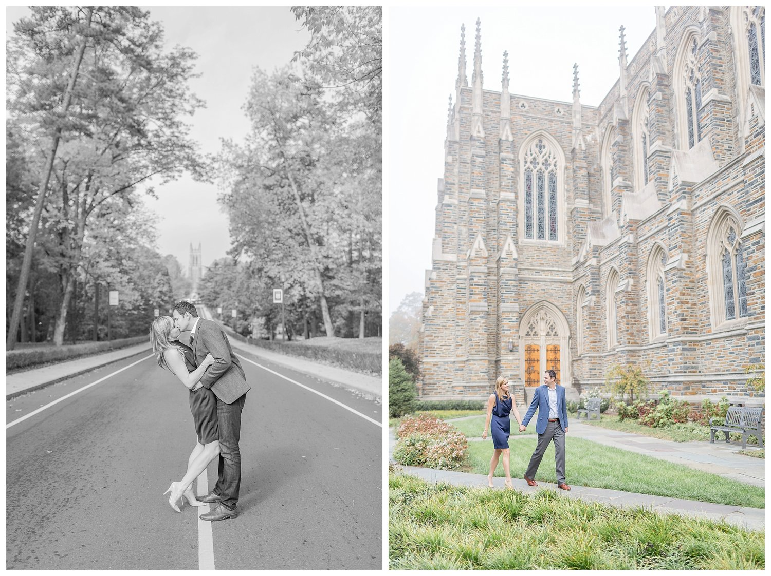 Duke University Engagement Durham Wedding Photographer 0014