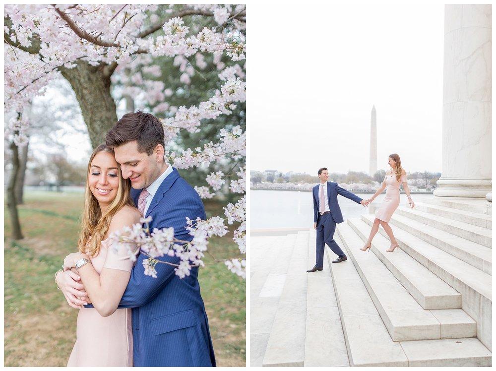 DC Cherry Blossom Engagement Virginia Wedding Photographer_0002.jpg