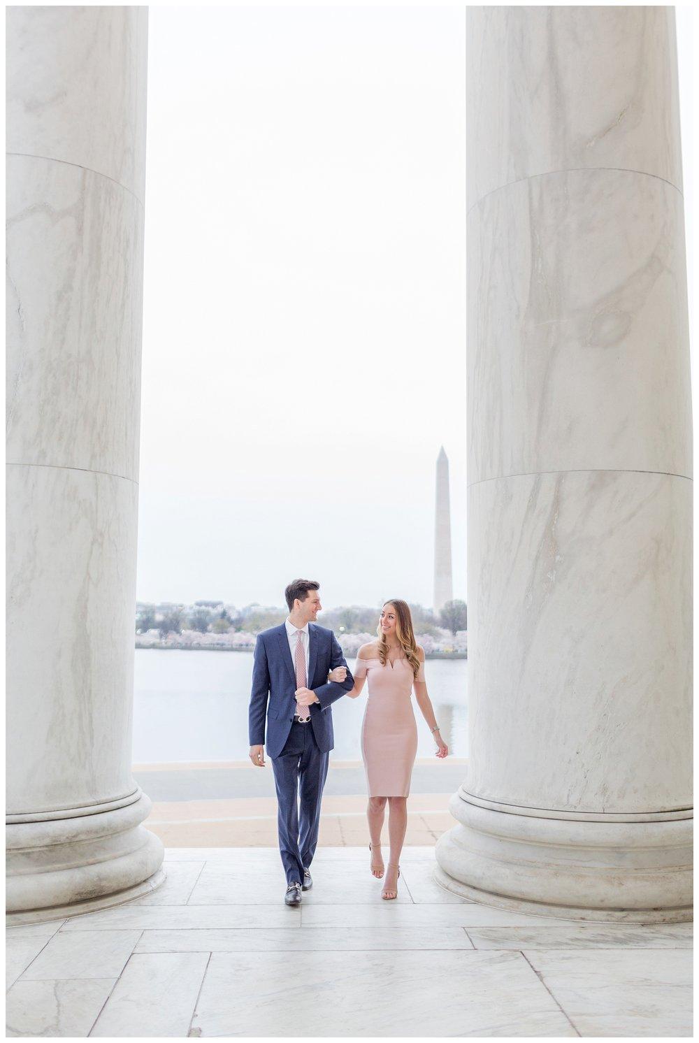 DC Cherry Blossom Engagement Virginia Wedding Photographer_0004.jpg