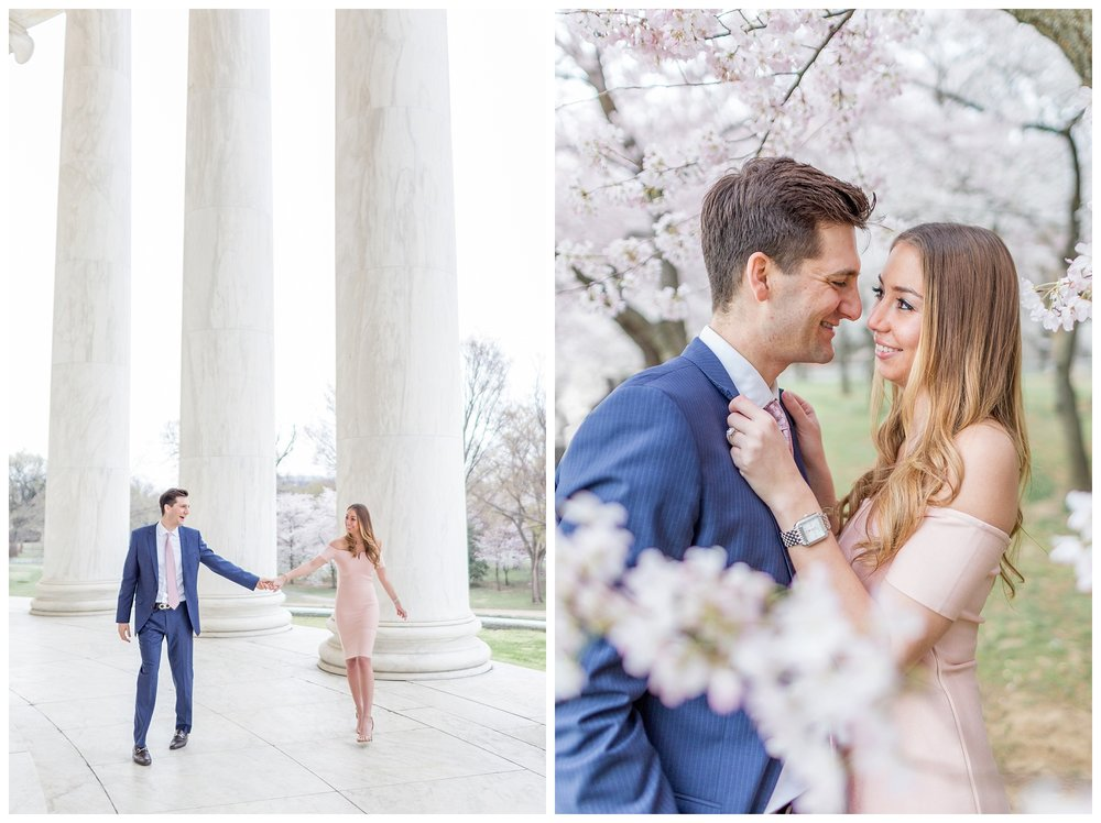 DC Cherry Blossom Engagement Virginia Wedding Photographer_0007.jpg