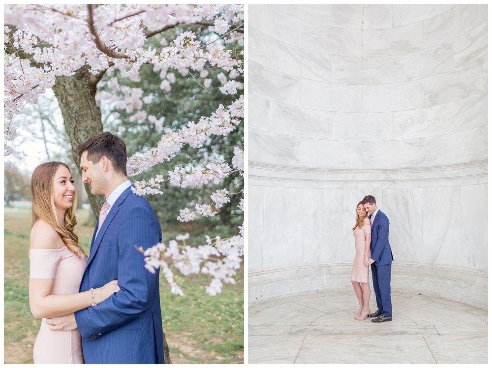 DC Cherry Blossom Engagement Virginia Wedding Photographer_0009.jpg