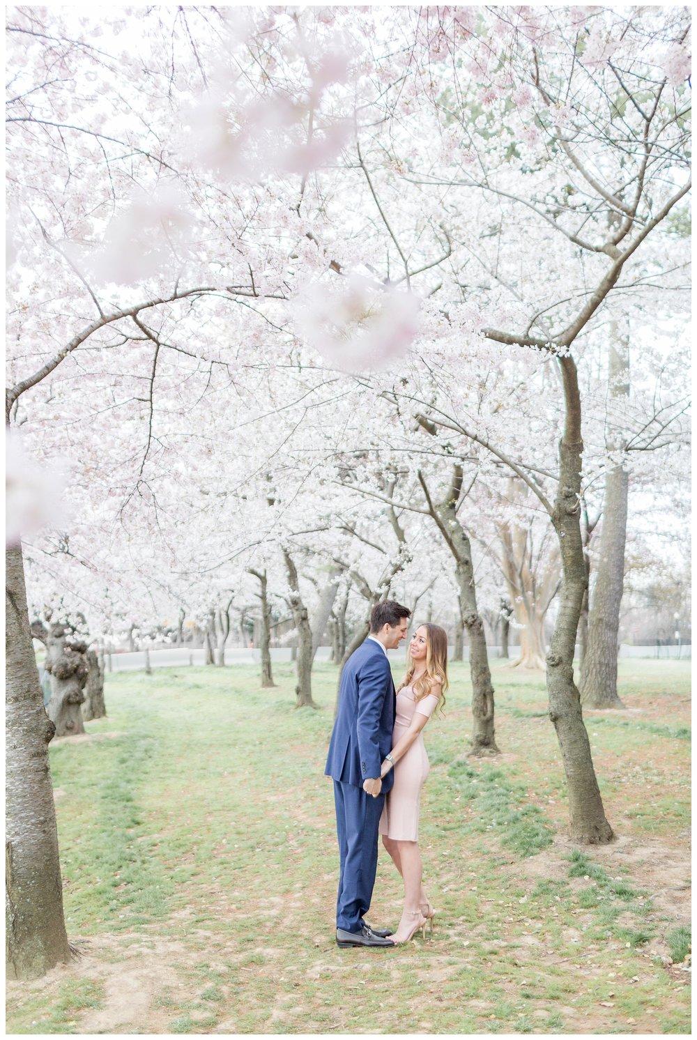 DC Cherry Blossom Engagement Virginia Wedding Photographer_0008.jpg