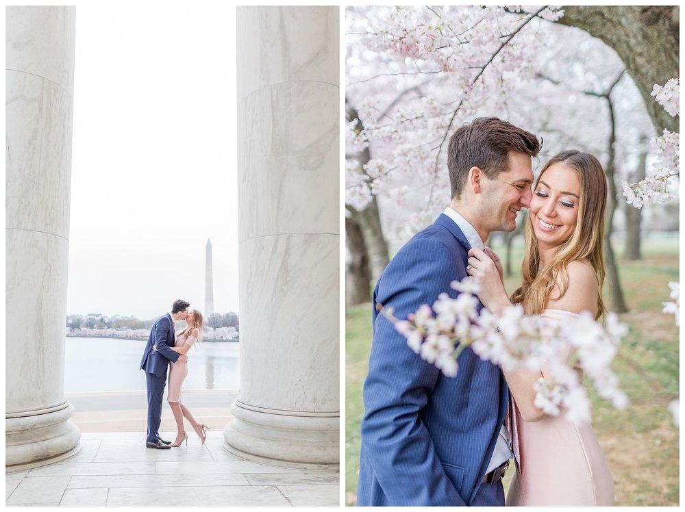 DC Cherry Blossom Engagement Virginia Wedding Photographer_0015.jpg